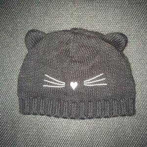 Old Navy Toddler Girls Cat Knitted Beanie